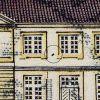 1739[21]: Sort plet mellem vinduerne. Nummer 21 i arket.