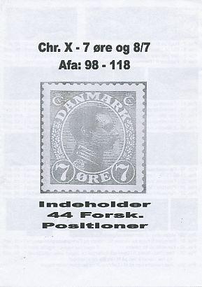 Chr. X - 7 øre
