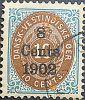 Dansk Vestindien Afa 21, pos.59, OF.69, OM.4, ramme 31.59 og hovedgruppe 5A