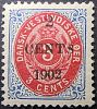 Dansk Vestindien Afa 18By pos.47, OF.28, ramme 31.54