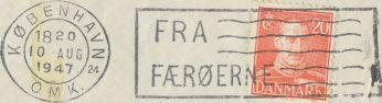FRA: FRA FÆRØERNE 24