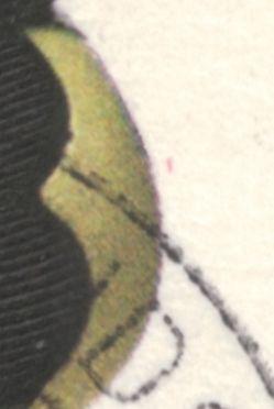 Afa 1128: Magenta plet vest for vase