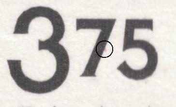 Afa 1128: Magenta skrå streg nedad fra midten af nedstreg i 7