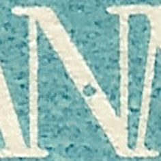 AFA 171 25 øre blå Pos 70