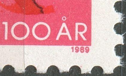Magenta plet under 1989