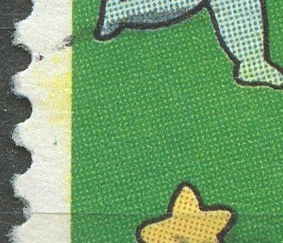 Grøn plet i v. margin