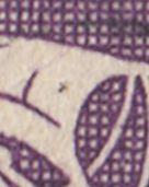 AFA 207 35 øre Violet Karavel Type I