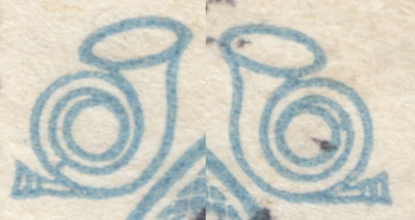 AFA 192 25 øre Blå CHR. X 60 års Jub.