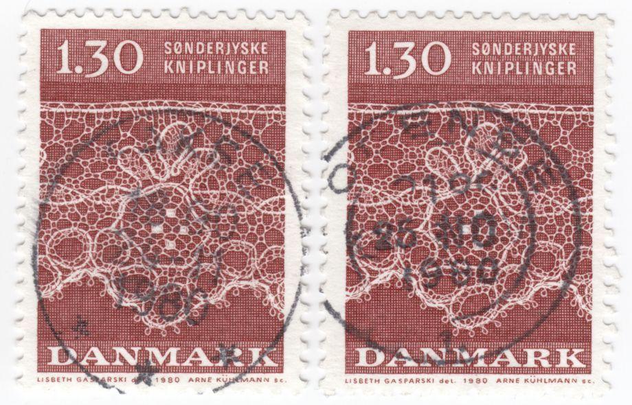 AFA 712 1.30 Kr. rød