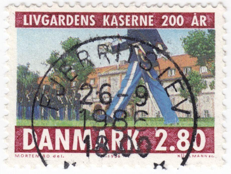 AFA 854 2.80 Kr. Flerfarvet