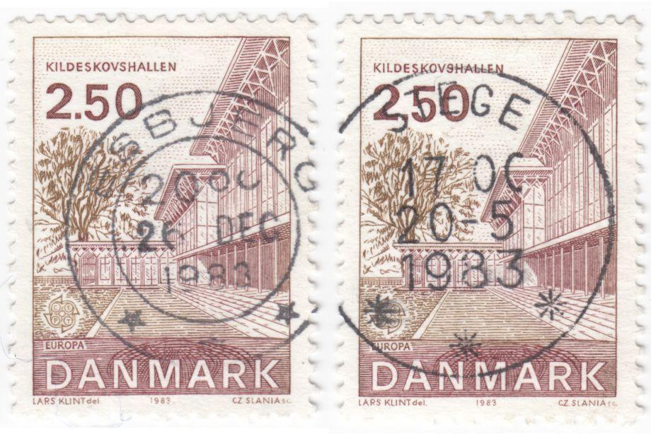 AFA 778 2.50 Kr. rød/brun