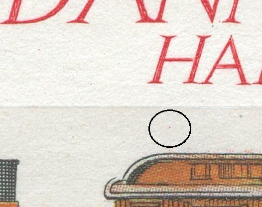 Magenta plet under H