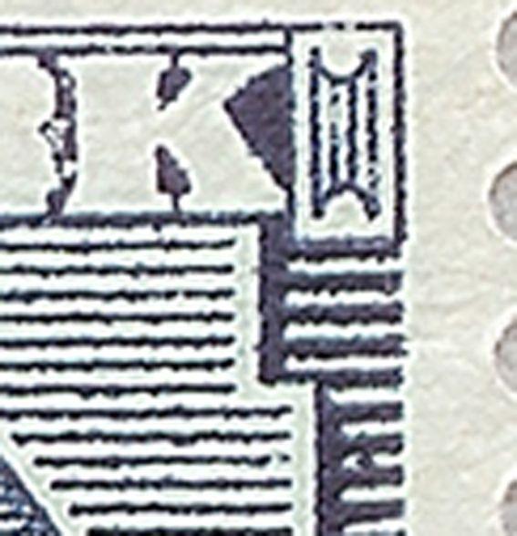 Afa 56 Fr. VIII 20 øre Blå
