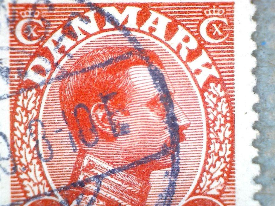 11562 AFA 69 10 ØRE RØD CHR. X