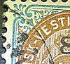 Dansk Vestindien Afa 21, pos.53, OF.88, OM.7, ramme 31.53