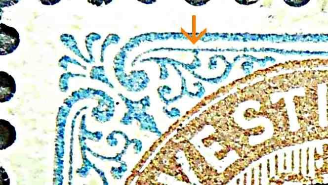 Dansk Vestindien Afa 21, pos.87, OF.74, ramme 31.87