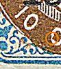 Dansk Vestindien Afa 21, pos.38, OF.52, OM.5, ramme 31.38 hovedgruppe 5A